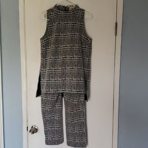 Michael Kors Tweed Two-Piece Outfit